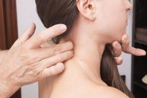 indemnización por esguince cervical